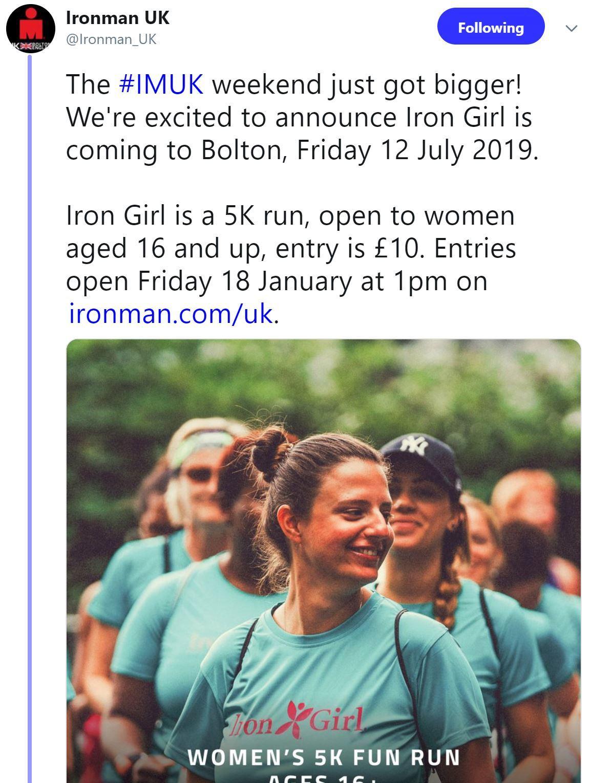 Iron Girl 5K
