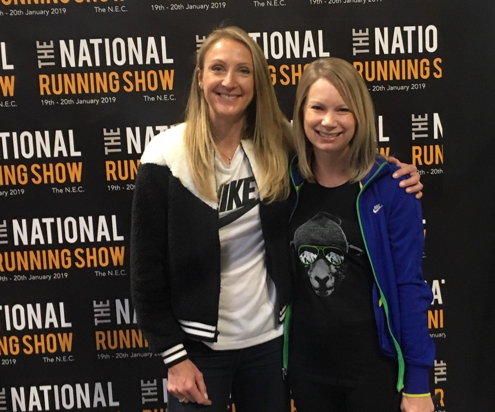 Paula Radcliffe at National Running Show 2019