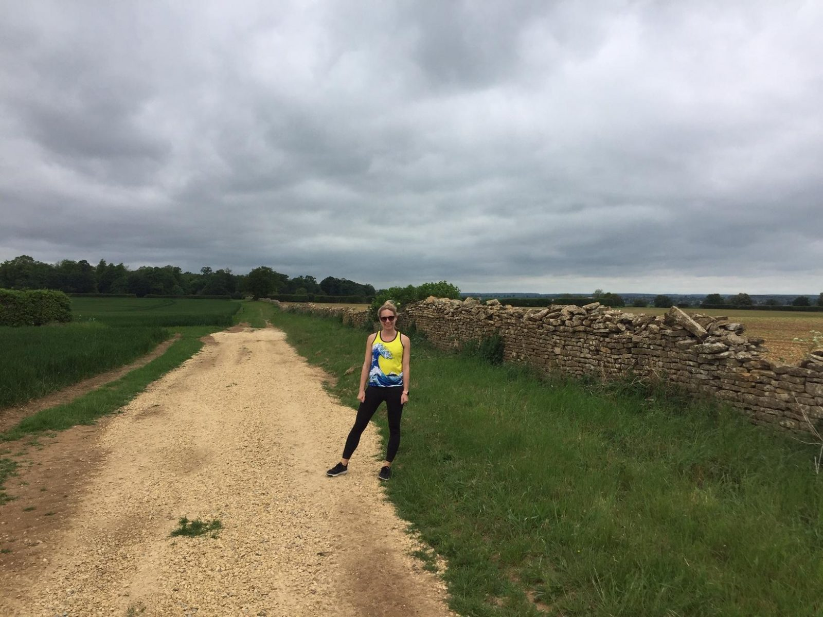 Running in the countryside