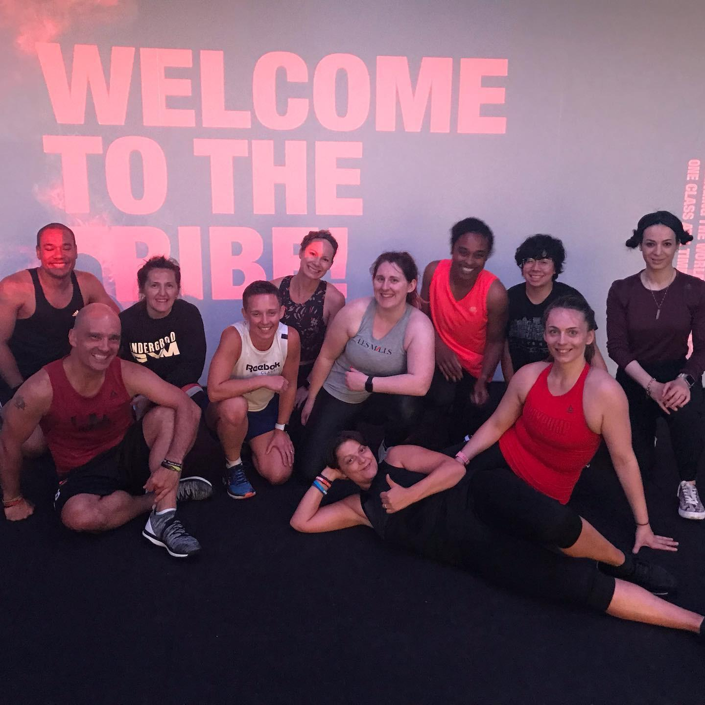 Les Mills Bodypump Instructor training