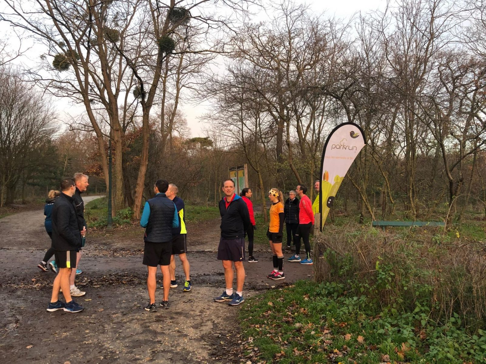 Parkrun in Paris